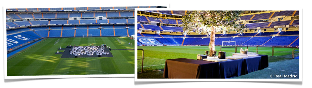 real madrid pitch dinner